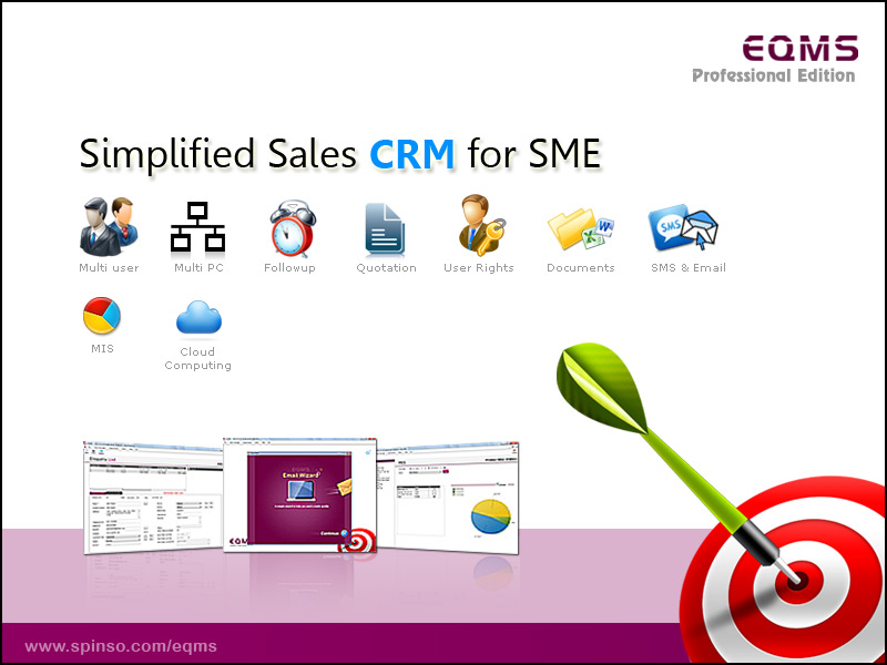 EQMS Professional Edition:CRM for SME's