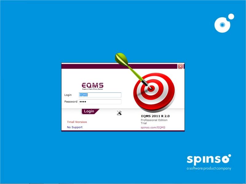 Full EQMS Standard Edition screenshot