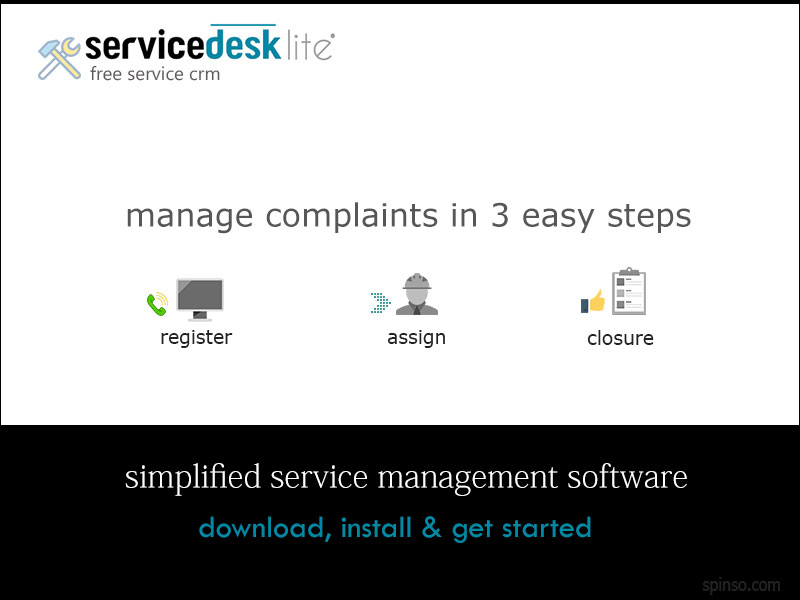 Free download ServiceDesk Lite : Free ServiceCRM