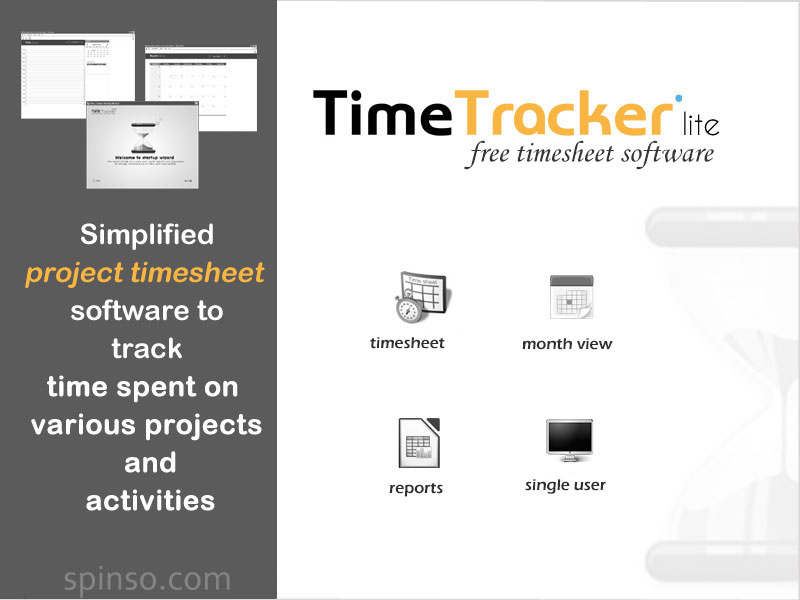 TimeTracker lite is a free timesheet software